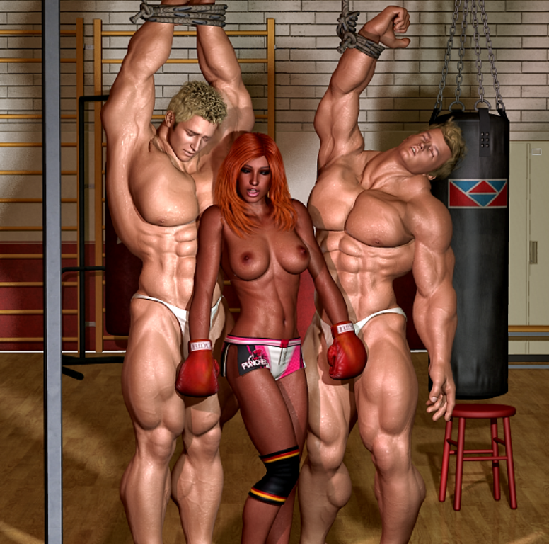 Fantasy muscle domination really