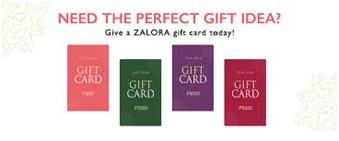 E-gift card zalora