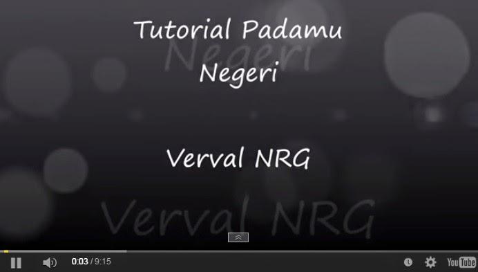 Petunjuk Terbaru Pengisian Verval NRG Padamu Negeri