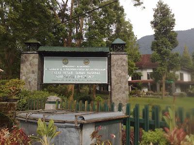 Balai besar gunung gede - pangrango