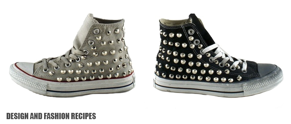 CONVERSE ALL STARS ON DESIGN AND FASHION RECIPES