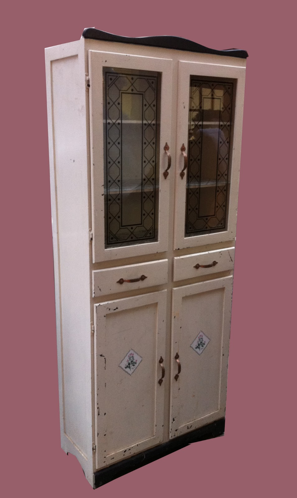 Furniture Collectibles Vintage Freestanding Kitchen Cabinet SOLD