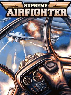 Screenshots of the Airfighter for java mobile, phone.