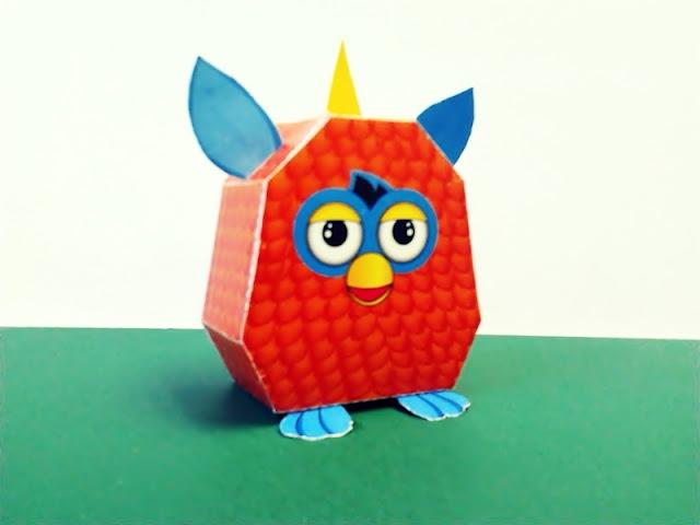 Furby Papercraft