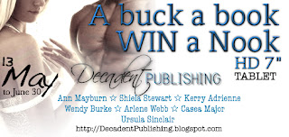Author Guest Post & Giveaway: Arlene Webb