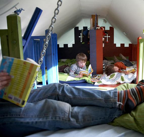 Compartir habitaci n en la buhardilla loft in soho - Habitaciones en buhardillas ...