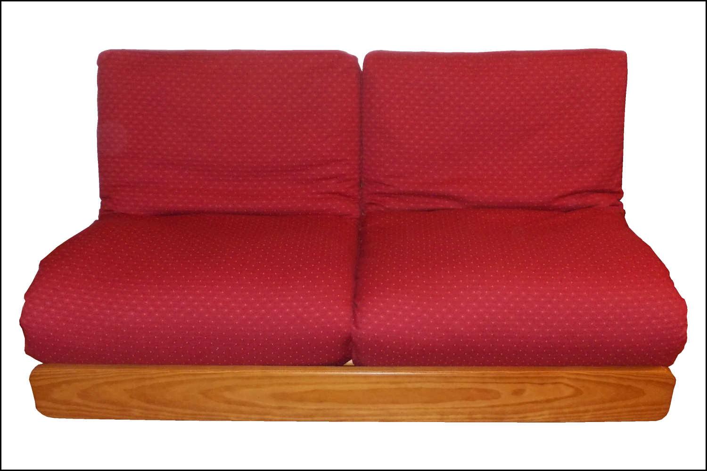 renat 39 art un canap lit rouge. Black Bedroom Furniture Sets. Home Design Ideas