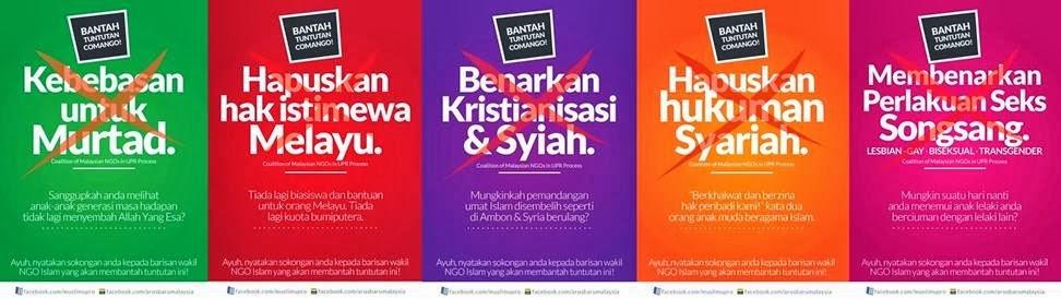COMANGO : MUSUH ISLAM, ANTI MELAYU