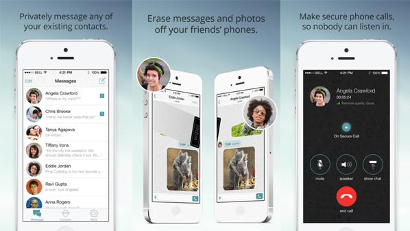 تحميل تطبيق المكالمات والرسائل الفورية المشفرة Wiper Messenger | أيفون