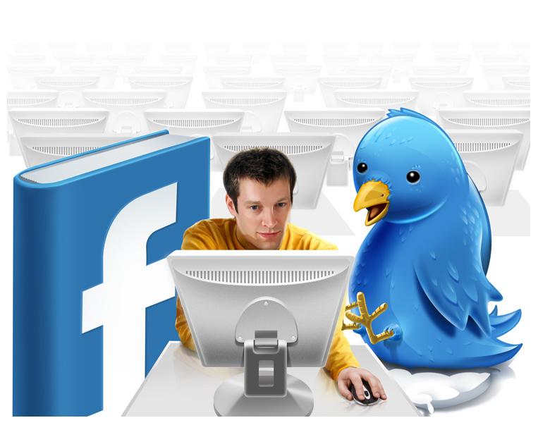 Facebook e Twitter criando uma geração vaidosa e obcecada por atenção