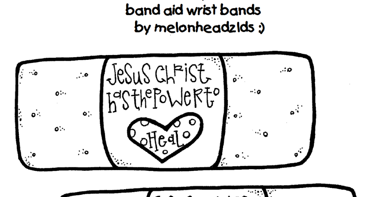 melonheadz lds illustrating  jesus christ has the power to heal wrist bands