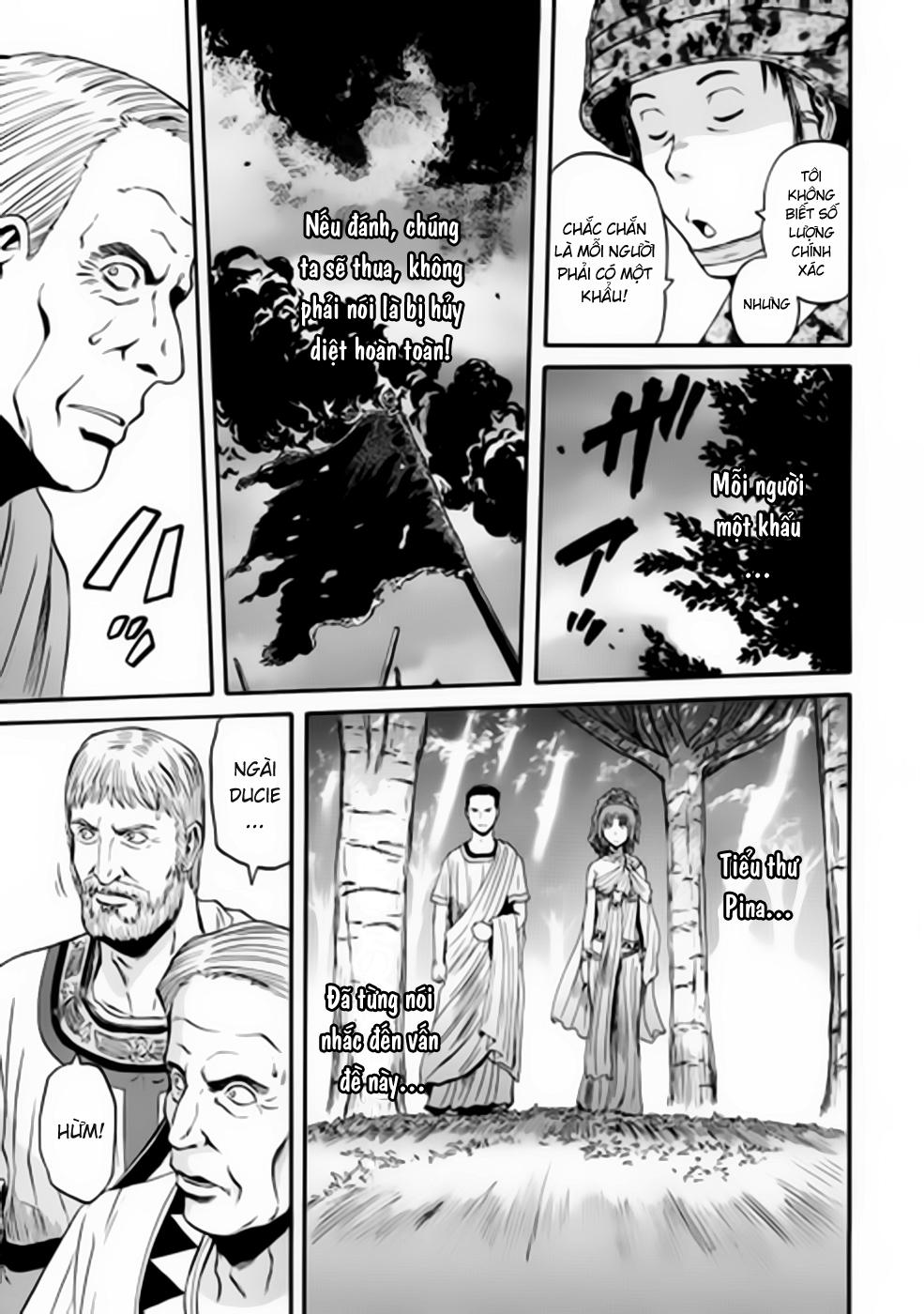 Gate – Jietai Kare no Chi nite, Kaku Tatakeri chap 30 Trang 24 - Mangak.info