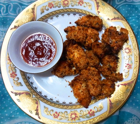 YUMMY TUMMY: Baked Chicken Nuggets Recipe