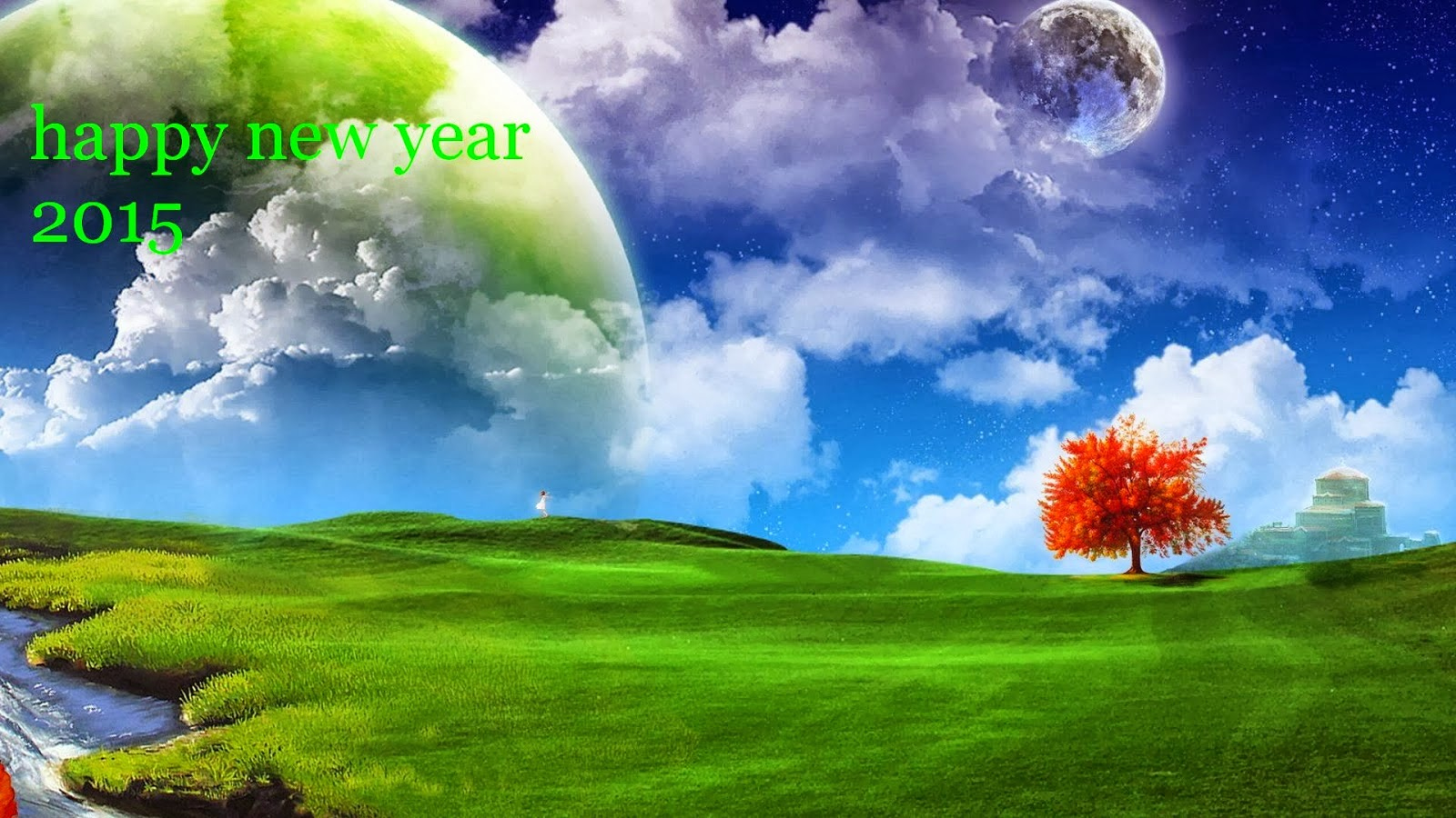 Happy New Year 2015 Wallpaper Free Downloading