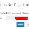 Solusi Lupa Nomor Registrasi PUPNS