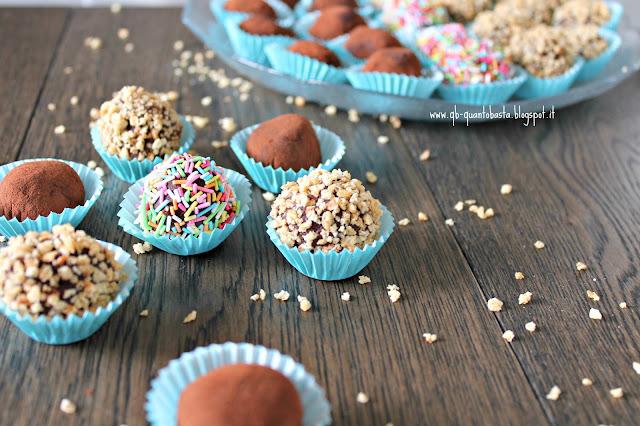 www.qb-quantobasta.blogspot.it - Tartufi al cioccolato