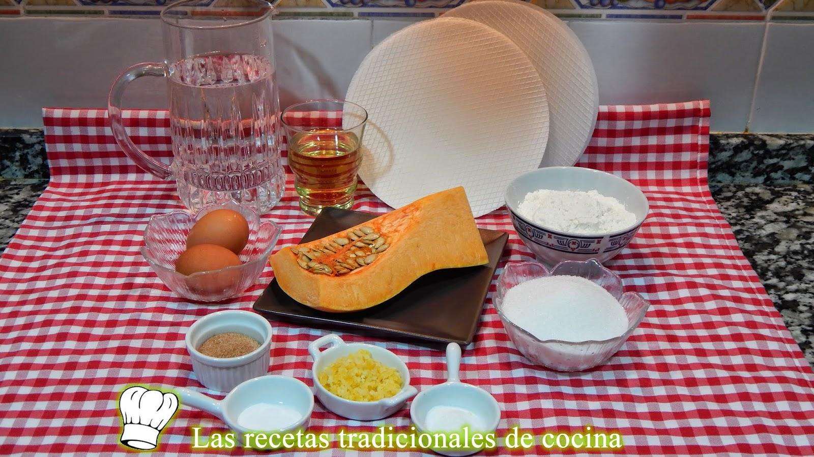 Receta fácil de Tortas de calabaza o cocas de calabaza