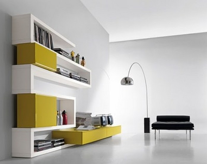 Furniture Interior Design: The Library Creative Side functional