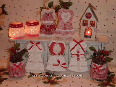 My romantic creations voglia di natale - Natale country decorazioni ...
