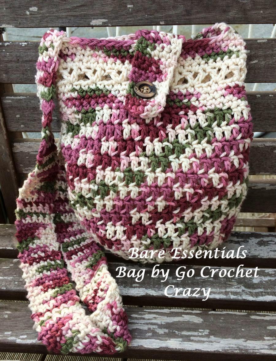 Crochet Crazy: Bare Essentials Bag -- A Hipster Style Crochet Purse