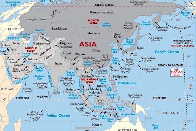 gambar benua asia bhs inggris1