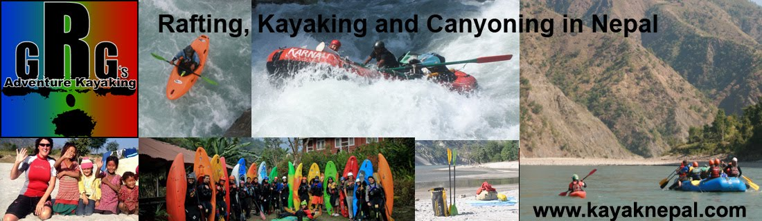 GRG Adventure Kayaking, Rafting, Kayaking and Canyoning Adventures in Nepal