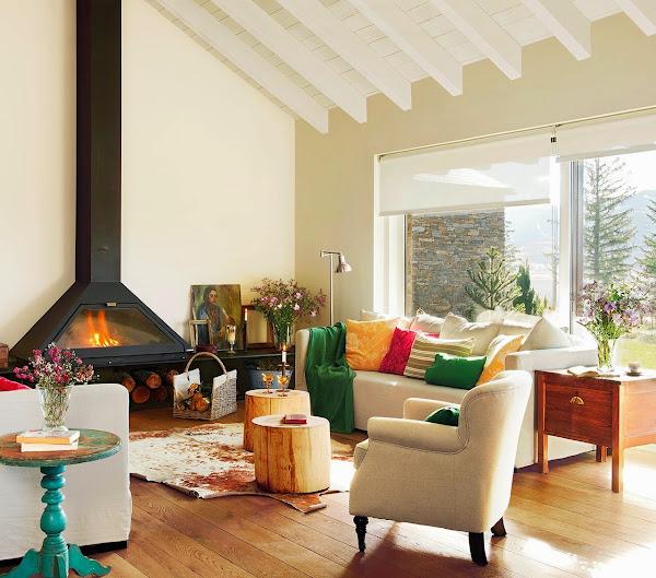 Mirador decorar tu casa es - Chimenea de mesa ...