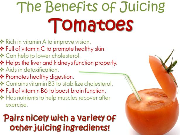 khasiat jus tomato