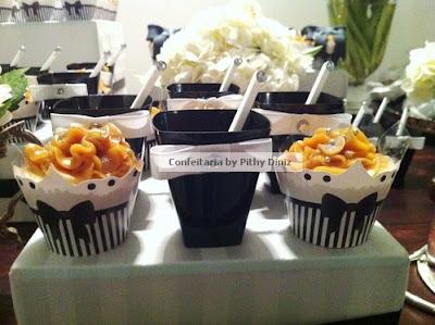 pb20 Festa Black & White + Mesa de doces Confeitaria