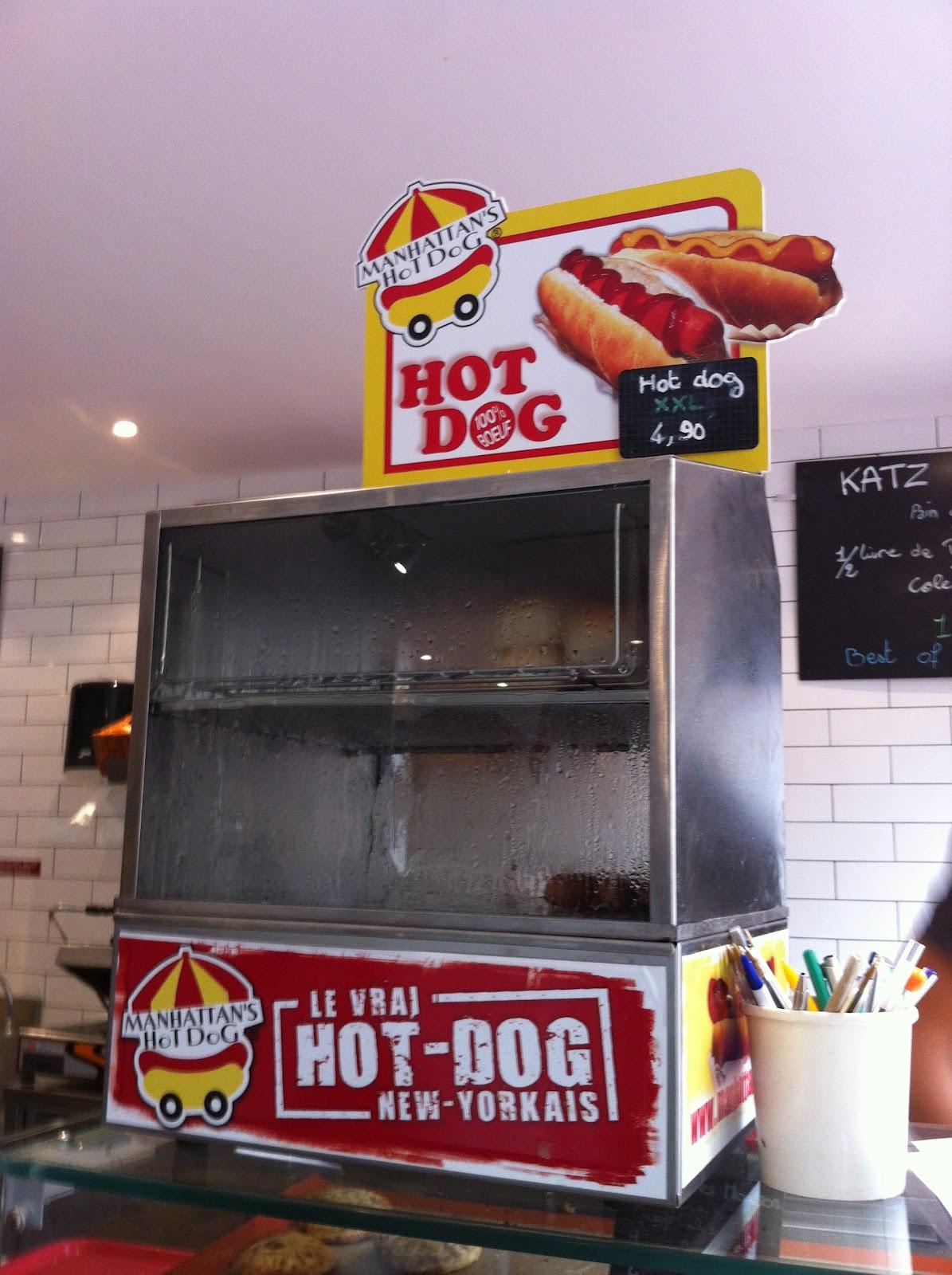 Machine a hot dog americaine