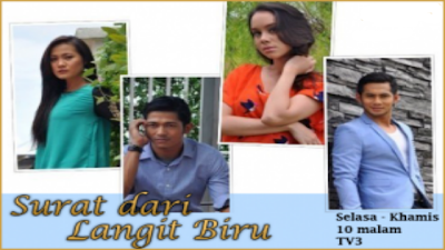 Surat Dari Langit Biru, Slot Samarinda TV3 download