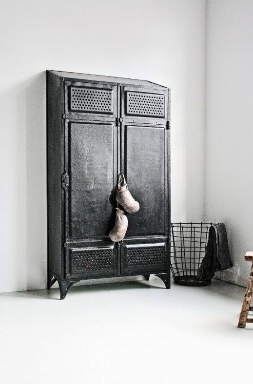 mueble recuperado estética fabril