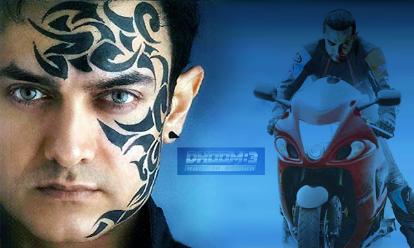 amir khan in dhoom 3