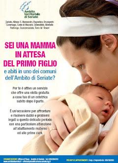 Progetto Neomamma per l'Ambito di Seriate, Calendario incontri 2013/2014
