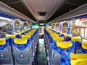 interior bus pariwisata kerub