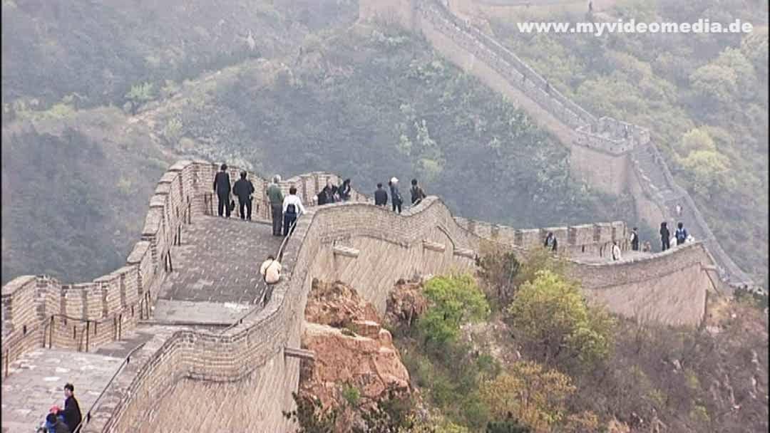 Visiting the Great Wall of China at Badaling