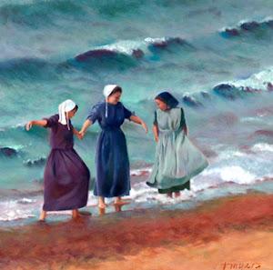 Amish meisjes