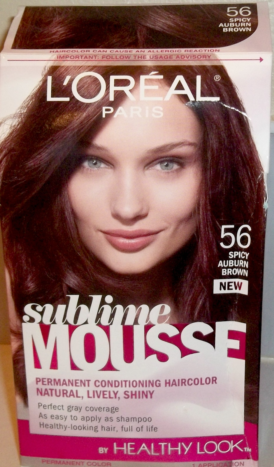 Garnier Medium Amber Brown Dark Brown Hairs Of Hair Color