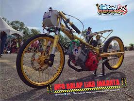 Jupiter mx Pemegang rekor Drag Bike Malaysia 6,553 detik 201 m