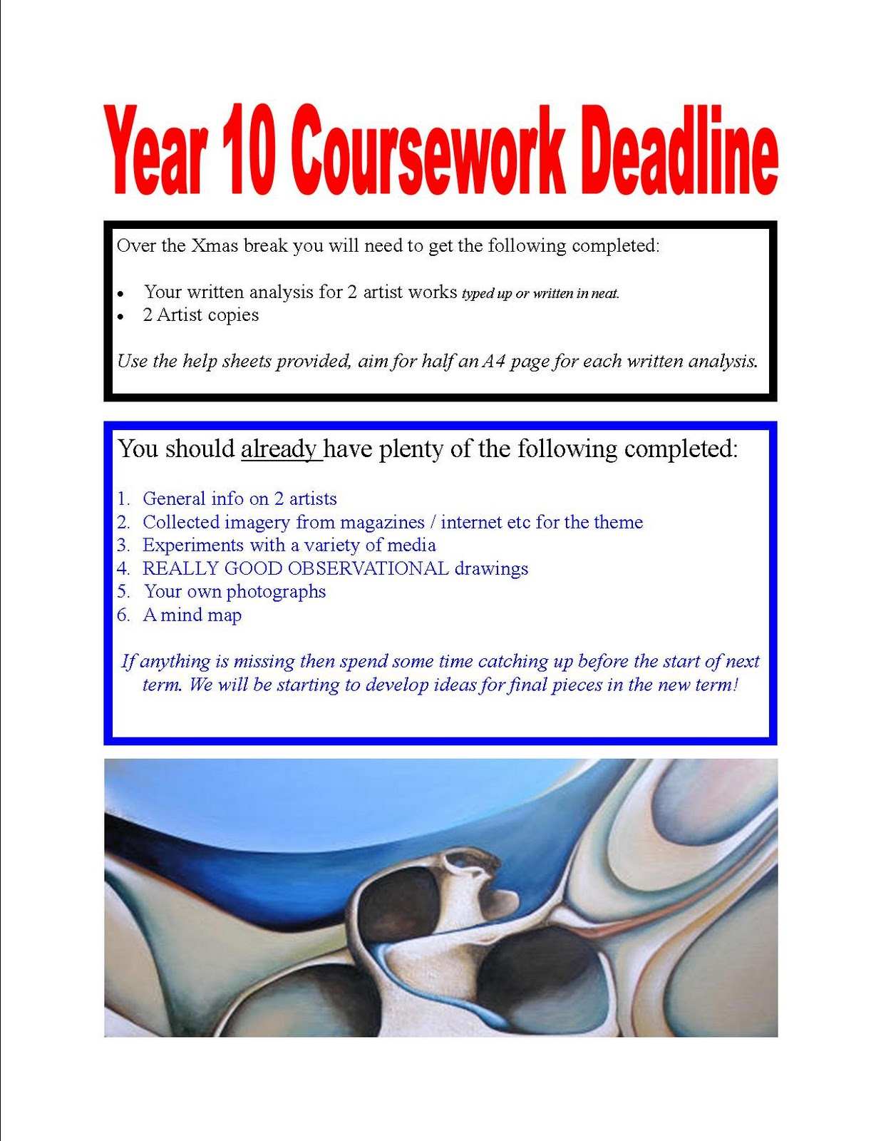 year 10 gcse coursework Year 11 gcse courses 2017-2018 st ivo school high leys, st ives key stage 4 – year 11 - 10 - | p a g e course cambridge national certificate in ict.