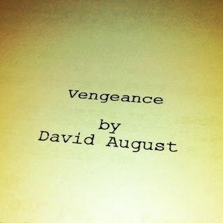 Title page of 'Vengeance