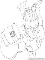Gambar Green Lantern Dan Cincin Ajaib