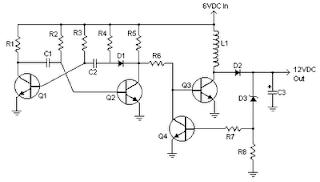 6 to 12 Volt Converter