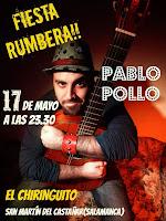 17/mayo. Concierto Pablo Pollo. San Martin del Castañar