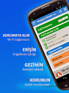 Hotspot Shield Elite Vpn Full Apk Türkçe