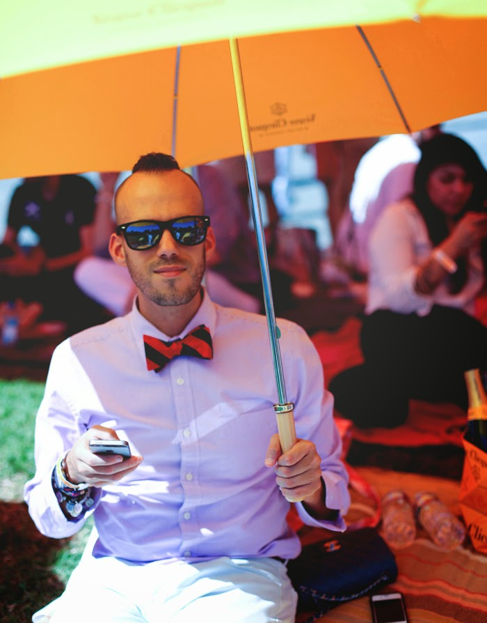 Kyle Hjelmeseth at 4th Annual Veuve Clicquot Polo Classic