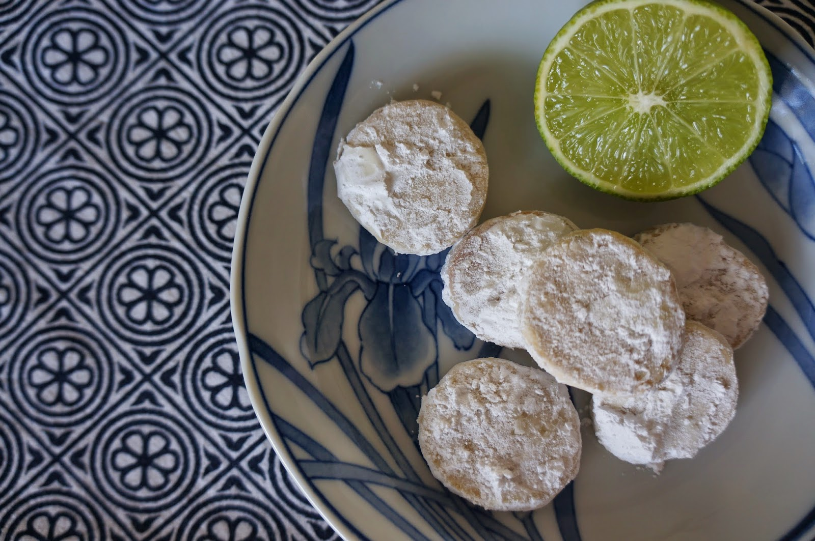 The Scarf and Stripe: lime meltaway cookies (we are melting in the ...