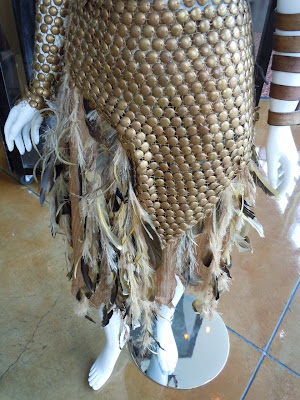 Conan costume Marique feathered skirt