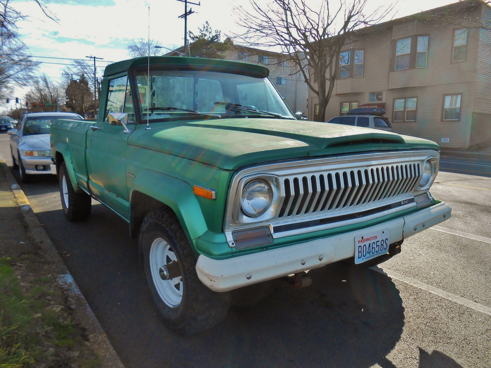 Seattle s Parked Cars 1975 Jeep J10