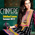 Chinyere Stitched Lawn Collection for Spring Summer 2015